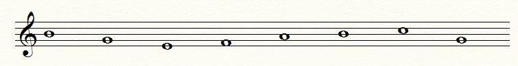 תרגיל לדוגמא קריאת תווים